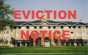 Charwell Colonel Belcher Eviction Notice