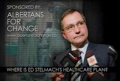 No Plan Albertans for Change Ad Ed Stelmach