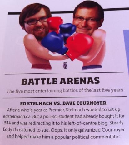 Ed Stelmach vs. Dave Cournoyer