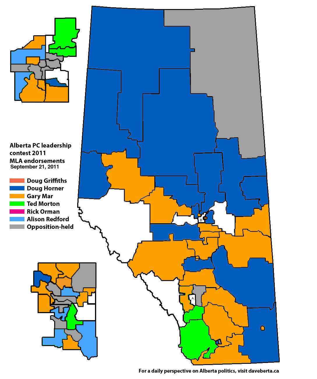 Map-of-MLA-support-in-the-2011-Alberta-PC-leadership-contest-September-21-2011