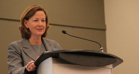 Alberta Premier-Designate Alison Redford at an all-candidates forum in Vermilon on July 21, 2011.