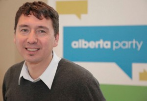 Michael Walters, Alberta Party candidate Edmonton-Rutherford