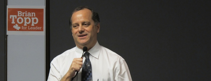 Brian Topp NDP leadership candidate