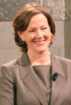 A photo of Alberta Premier Alison Redford