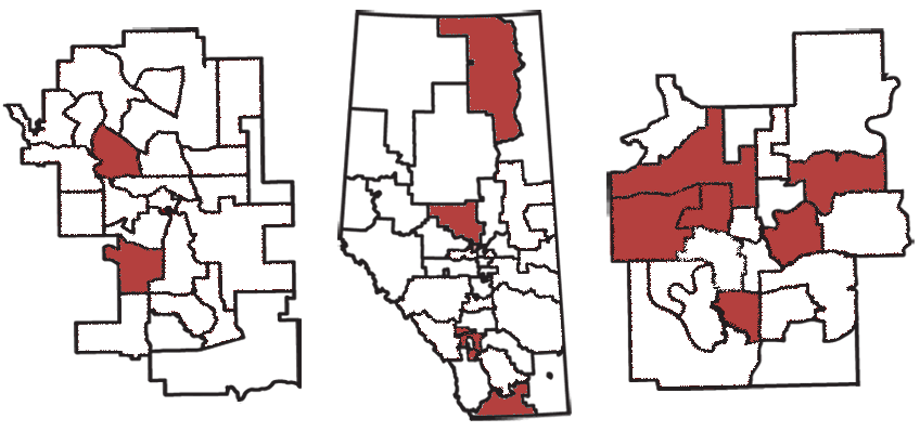 15 races to watch in Alberta's 2012 election.