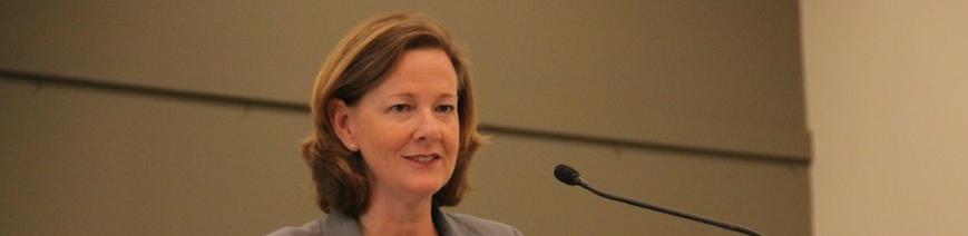 Alberta Premier Alison Redford 2011