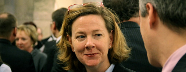 A photo of Alberta Premier Alison Redford