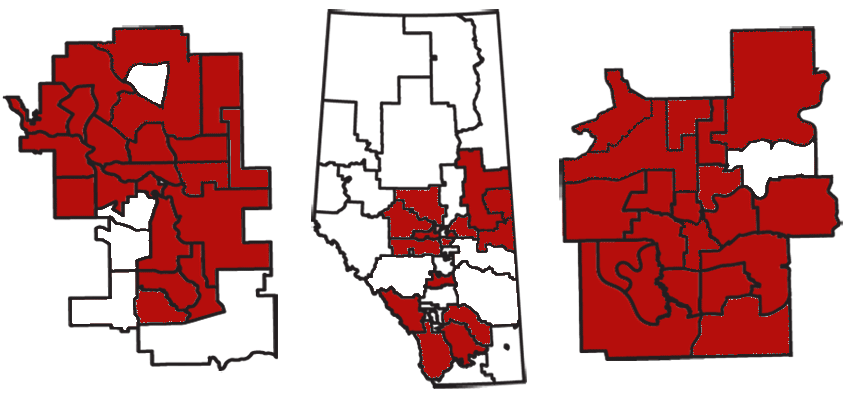 Alberta Liberal Party nominated election candidates (March 22, 2012)