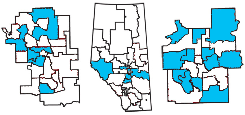 Alberta Party nominated election candidates (March 22, 2012)
