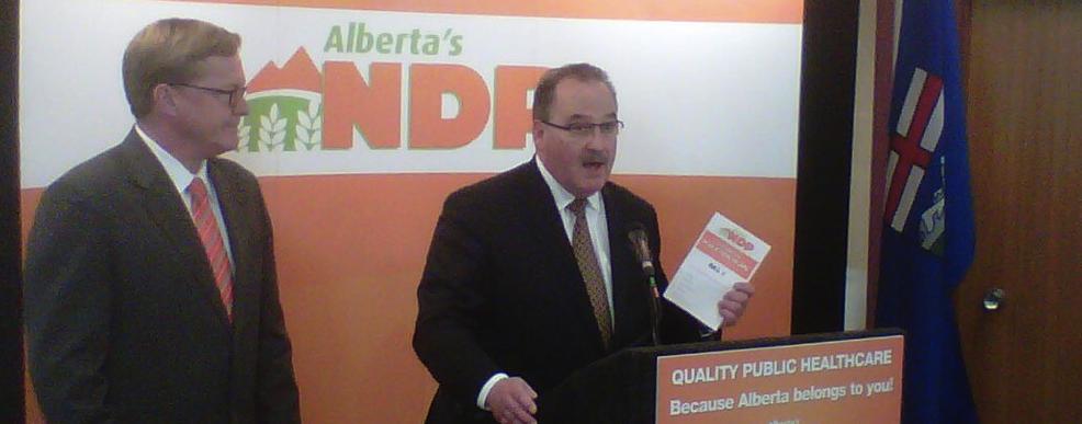 Brian Mason David Eggen Alberta NDP 2012 Election