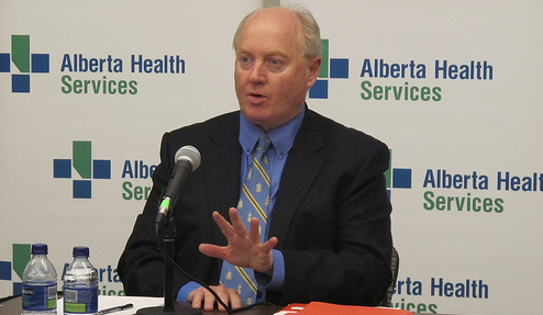 Ken Hughes PC candidate Calgary-WEst