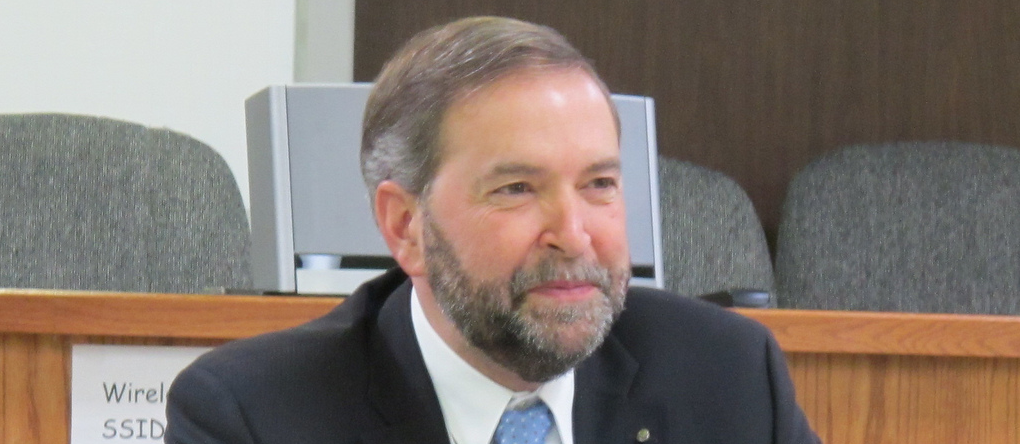 Thomas Mulcair Edmonton Alberta January 2011