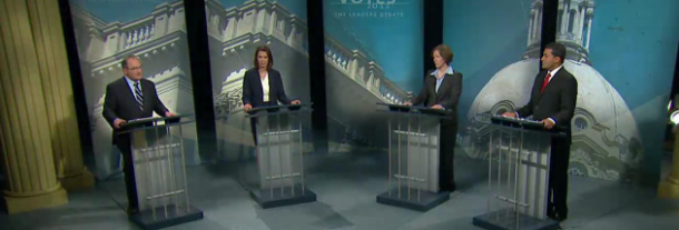 Alberta Election Leaders Debate 2012