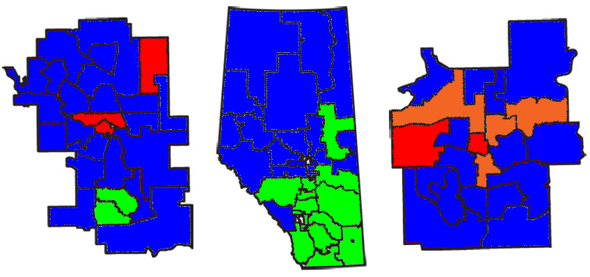 Alberta Election Results 2012