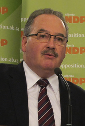 Brian Mason Alberta NDP leader 2012 Election