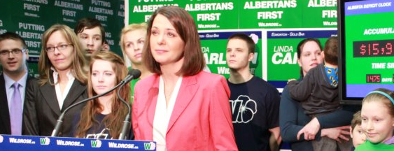 Danielle Smith Linda Carlson Wildrose