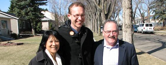 Marlin Schmidt Brian Mason Olivia Chow NDP Alberta Election 2012