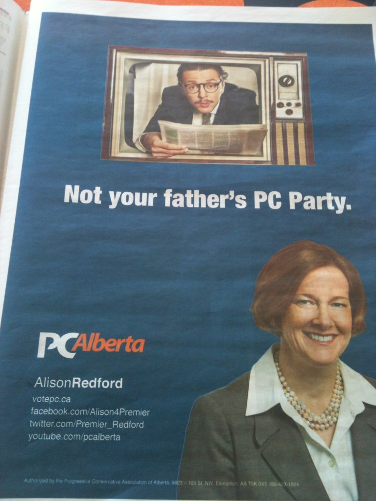 Alison Redford Not Your Father's PC Party