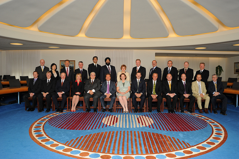 Alberta Cabinet Ministers Premier Redford