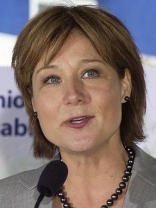 BC Liberal Premier Christy Clark