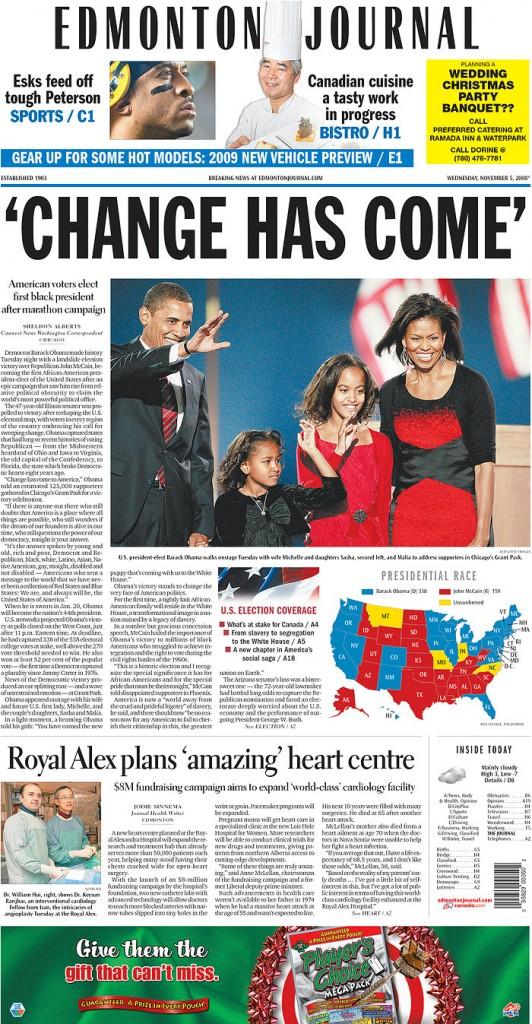 Edmonton Journal November 5 2008