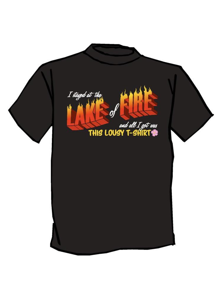 Lake of Fire t-shirt Edmonton Pride Parade
