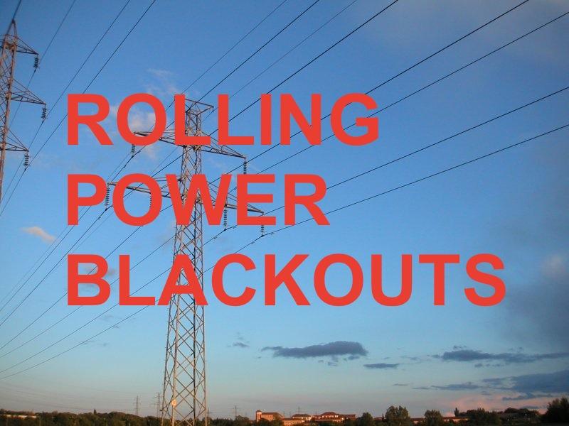Alberta Rolling Power Blackouts