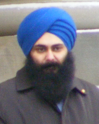 Edmonton-Sherwood Park MP Tim Uppal