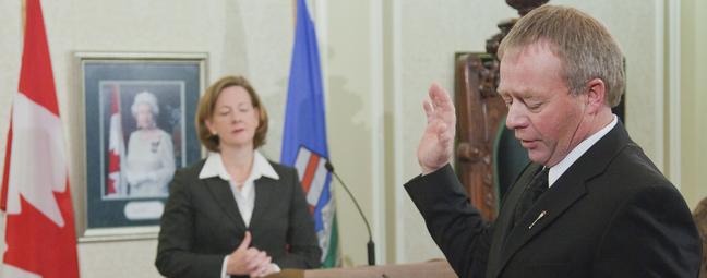 Evan Berger Alison Redford