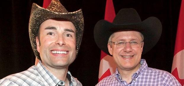 Stefan Spargo Stephen Harper Calgary Centre