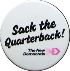 Alberta NDP Campaign Button 1986 Election