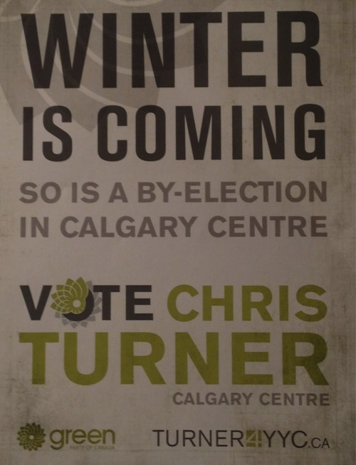 Winter is Coming Chris Turner