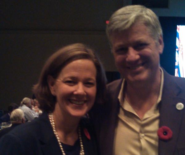 Alison Redford Harvey Locke Calgary Centre Liberal