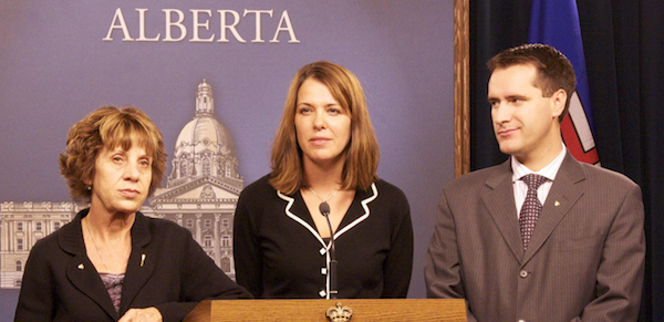 Danielle Smith Rob Anderson Heather Forsyth Wildrose