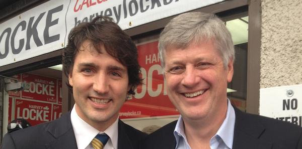 Justin Trudeau Harvey Locke