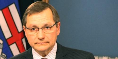 Former Premier Ed Stelmach