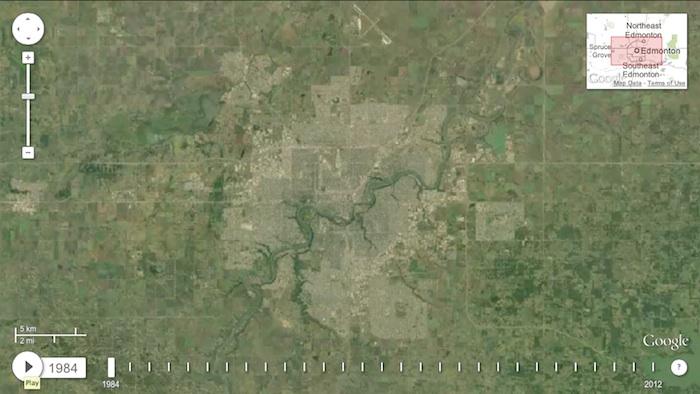 Edmonton Alberta 1984