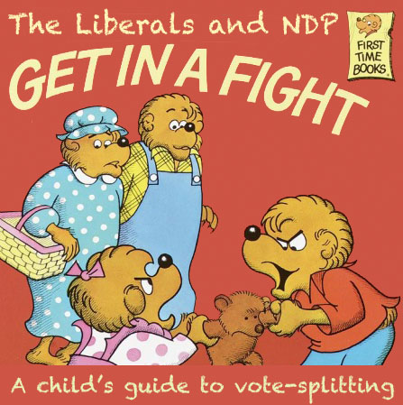 Liberals and NDP Get in a Fight