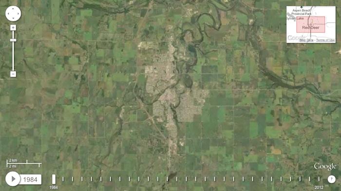 Red Deer Alberta 1984