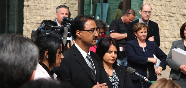 Amarjeet Sohi announces he will not run for Mayor.