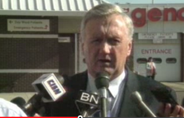 Ray Martin (screenshot from CBC news archive)
