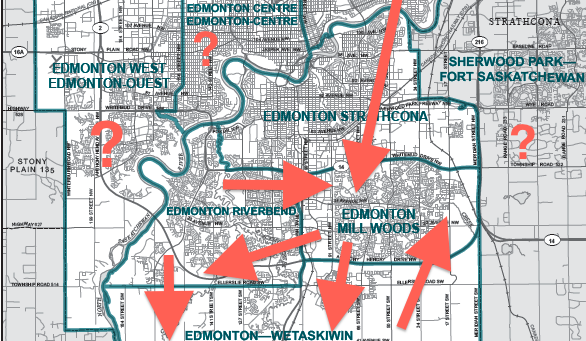 South Edmonton ridings