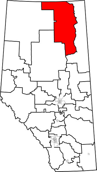 Fort McMurray-Wood Buffalo (image from wikipedia)