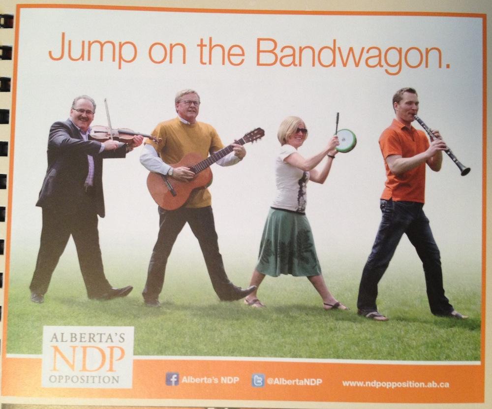 Alberta NDP Edmonton Folk Fest Ad