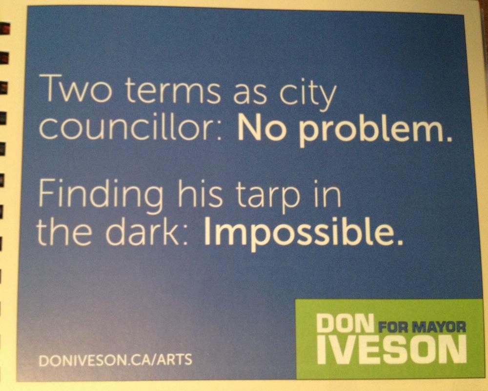 Don Iveson Edmonton Folk Festival Ad