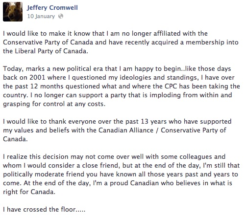 Jeff Cromwell PC Liberal Fort McMurray