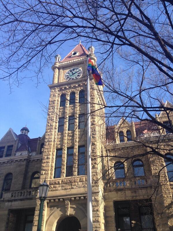 Pride Flag Calgary City Hall Sochi Olympics