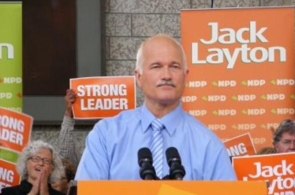Jack Layton NDP Edmonton