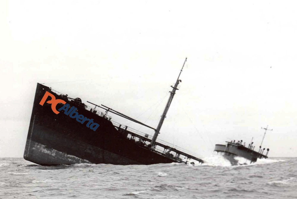 Alison Redford Alberta Progressive Conservative leadership party sinking ship