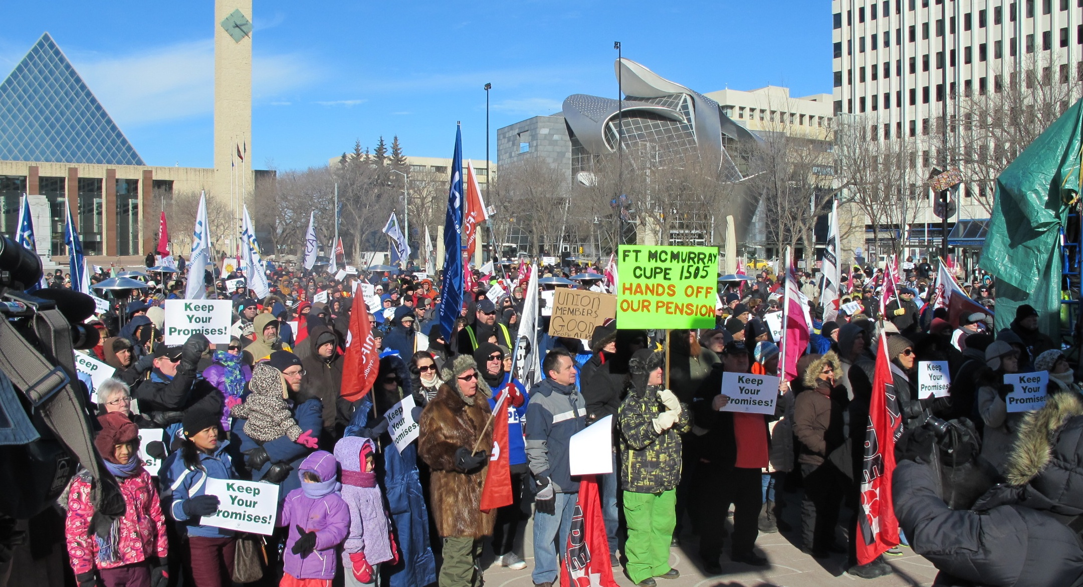Rally for Pensions Alberta